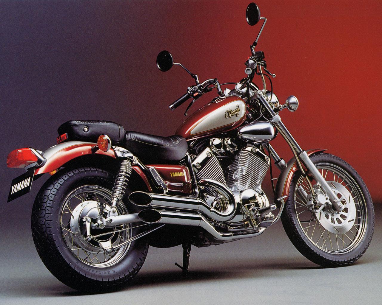 Fondecran2on Yamaha Virago 535